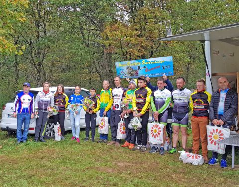podium Lagorce le 29-10-17